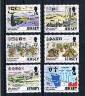 Jersey 1994 Krieg Mi.Nr. 654/59 Kpl. Satz ** - Jersey