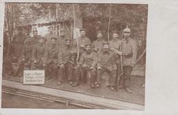 CARTE PHOTO ALLEMANDE - GUERRE 14-18 - FERME SOREL PRÈS DE LOISON - MEUSE - Guerra 1914-18