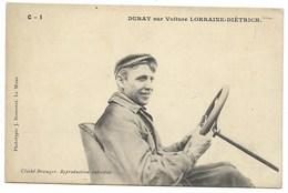 DURAY Sur Voiture LORRAINE-DIETRICH... - Cartoline