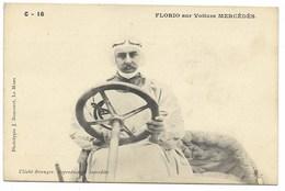 FLORIO Sur Voiture MERCEDES... - Postcards