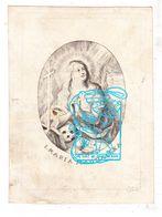 DP Adel Noblesse Henrica A Du Bois Vroylande / Della Faille 1757 † Paris 1818 X Burg Antwerpen Cornelissen D Weynsbroeck - Images Religieuses