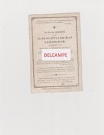 DOODSPRENTJE DEKONINCK ALICE DOCHTER VAN HENDRIK EN PLYSON VLADSLO BRUGGE 1871 - 1881 - Images Religieuses