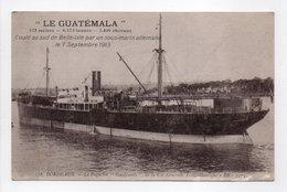 - CPA BATEAUX - BORDEAUX - Le Paquebot GUATÉMALA - Edition BR 178 - - Steamers