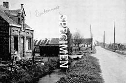Belgisch Kleinste Dorp - Gemeentehuis En Oude Zeedijkstraat - Zoutenaaie - Veurne