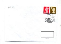 Lettre Cachet Banbury Chien Pour Handicapé - Marcophilie - EMA (Empreintes Machines)