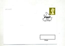 Lettre Cachet  Bell Lane Feu Theme Pompier - Machine Stamps (ATM)