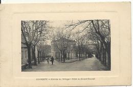 CEYRESTE. ENTREE DU VILLAGE. COTE DU GRAND CAUNET - France