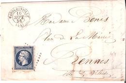 Morbihan :- NAPOLEONVILLE P.C.2534 Dateur Type 15 - 1849-1876: Période Classique