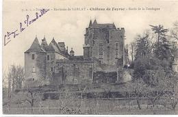 CPA - Fayrac - Le Château  ( Environs De Sarlat )  ( Bords De La Dordogne ) - Otros Municipios