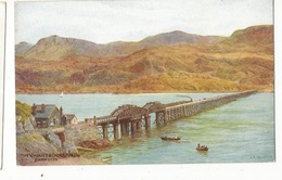 CPSM , G.B. N°2232 , Barmouth ....Ed. J. Salmon - Bedford