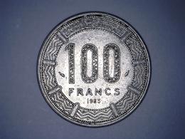 RÉPUBLIQUE DU TCHAD 1985 100 Francs BANQUE DES ETATS DE L'AFRIQUE CENTRALE - Chad