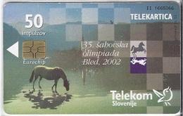 SLOVENIA - CHESS OLYMPIAD - 6.000EX - Slowenien