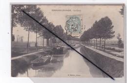 Sermaize Les Bains (51) Le Canal (et Péniches) - Sermaize-les-Bains
