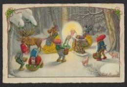Illustr. Pauli Ebner - Gnomes - Cochons - Traîneau - Ange - Elfes - Noël - - Ebner, Pauli