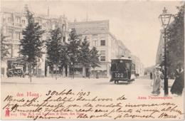 Den Haag - Anna Paulownaplein - & Tram - Den Haag ('s-Gravenhage)