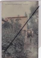Vanault Les Dames (51) Les Moulins (couple Avec Enfant) Carte Glacée Et Version Couleur N° 640 - France
