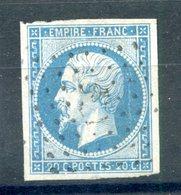 France N°14 Oblitération Ancre - (F964) - 1853-1860 Napoléon III.