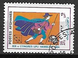 AFGHANISTAN    -   1984  .  Congrès UPU De Hambourg.  Facteur - Afghanistan