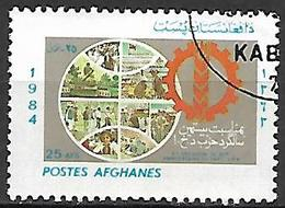 AFGHANISTAN    -   1984  .  20 ° Anniversaire Du Parti DPA - Afghanistan