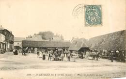 ST GEORGES DU VIEVRE Place De La Halle Au Blé - France