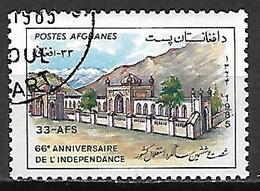 AFGHANISTAN    -   1985  .  66 ° Anniversaire De L' Indépendance. - Afghanistan