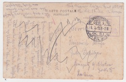 Bruges Porte De L'Ane Aveugle.  Cachet Militaire  Feldpostexpedition 1915. 23°Div. - Briefe U. Dokumente