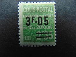 Timbre Pour Colis Postaux N°. 125* - Mint/Hinged