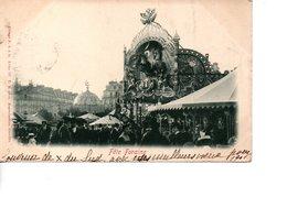 CPA Précurseur Fête Foraine ( 1900) - Cirque