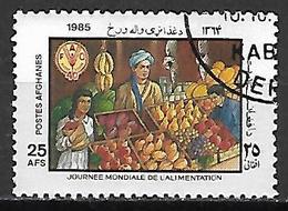 AFGHANISTAN    -   1985  .   Journée  Mondiale De L' Alimentation. FAO  /  Fruits / Légumes. - Afghanistan