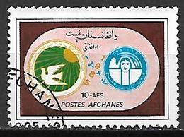 AFGHANISTAN    -   1985  .   D.R.A.  /  Colombe De La Paix - Afghanistan