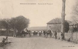 35 - ROZ SUR COUESNON   Ferme De Monsieur Touzard - Personnages Avec Charrettes à Chevaux - Altri Comuni