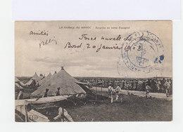 Sur CPA De La France Au Maroc En FM Cachet Service à La Mer Armée Française 1908. (3053r) - Morocco (1891-1956)
