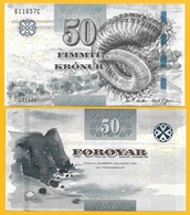 Faroe Islands 50 Kronur P-29 2011 UNC Banknote - Féroé (Iles)