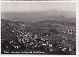 ORINO - VARESE - PANORAMA CON VISTA DEL MONTE ROSA - VIAGG. 1954 -39030- - Varese