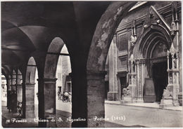 PESARO - CHIESA DI S. AGOSTINO - PORTALE - VIAGG. 1955 -34127- - Pesaro