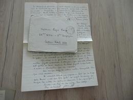 Félibre Occitan Courant Mistral  LAS Autographe Signée + Enveloppe Lieutenant Lesaffre 1940 - Autografi