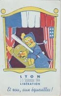 France CPA Lyon Guignol Libération 2-3 Septembre 1944 - Lyon