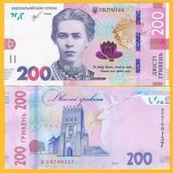 Ukraine 200 Hryven P-new 2019 UNC Banknote - Ucraina