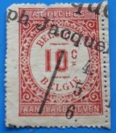 FISCAL AFFICHES BELGIE Belgique  Fiscaux  Timbre - Revenue Stamps