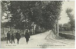 SEPTFONDS (82) – Avenue De La Gare. E. Daynes, éditeur, N° 3. - France
