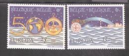 CEPT 500 Jahre Entdeckung Amerikas Belgien 2506 - 2507 / MNH ** - 1992