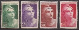 Marianne De Gandon - FRANCE - Emission De 1945 - N° 730 - 731 - 732 - 734 * - Neufs