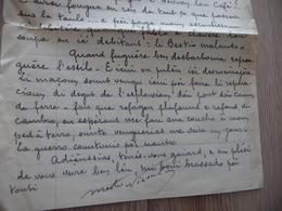 Félibre Occitan Courant Mistral  LAS Autographe Signée 4 Pages 1946 Meste Nicoulay L'Escoutaïre - Autografi