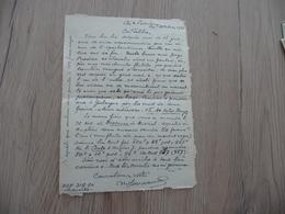 Félibre Occitan Courant Mistral  LAS Autographe Signée Jouveau 1948 - Autografi