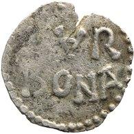 781 - 800 Louis The Pious Carolingian Denier Narbonne A In NAR Inverse - 751-987 Monnaies Carolingiennes