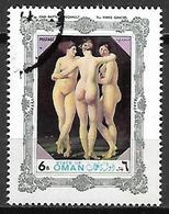 OMAN    -   PEINTURE   -  Les Trois Graces. - Oman