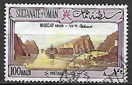 OMAN    -   Vue De Muscat En 1809  -   Bateau - Oman