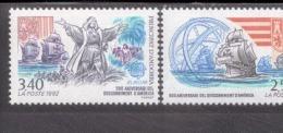 CEPT 500 Jahre Entdeckung Amerikas Andorra RF 437 - 438 / MNH ** - 1992