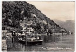 LAGO MAGGIORE - CANNERO - RIVIERA - VERBANIA - 1956 - TRAGHETTO - Verbania