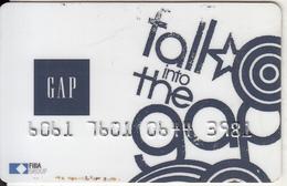 TURKEY - GAP Magnetic Member Card, 09/14, Used - Altre Collezioni